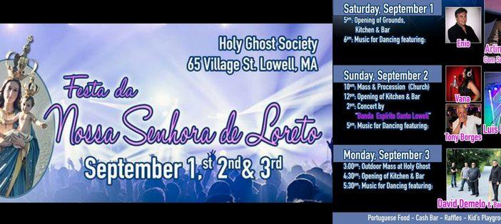 2018 Our Lady of Loreto Feast – Lowell, MA