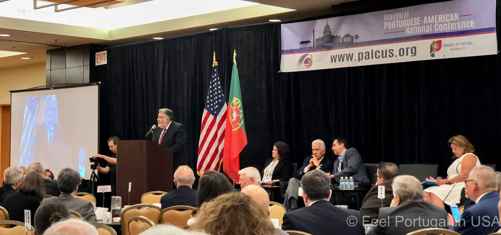 Judge Phillip Rapoza at a PALCUS conference past June in Washington D.C.