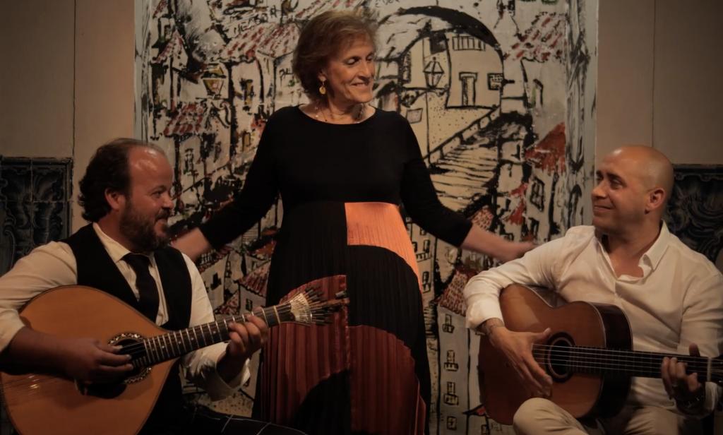 Teresa Siqueira with Sandro Costa and Ivan Cardoso